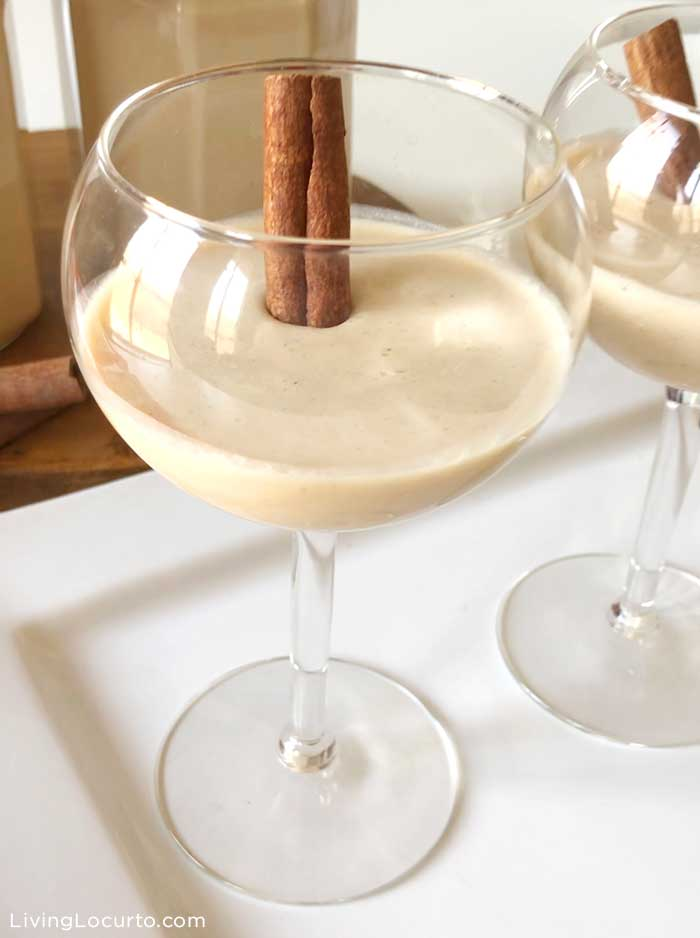 Best Coquito Recipe - Puerto Rican Rum Punch - Easy Eggnog Alternative