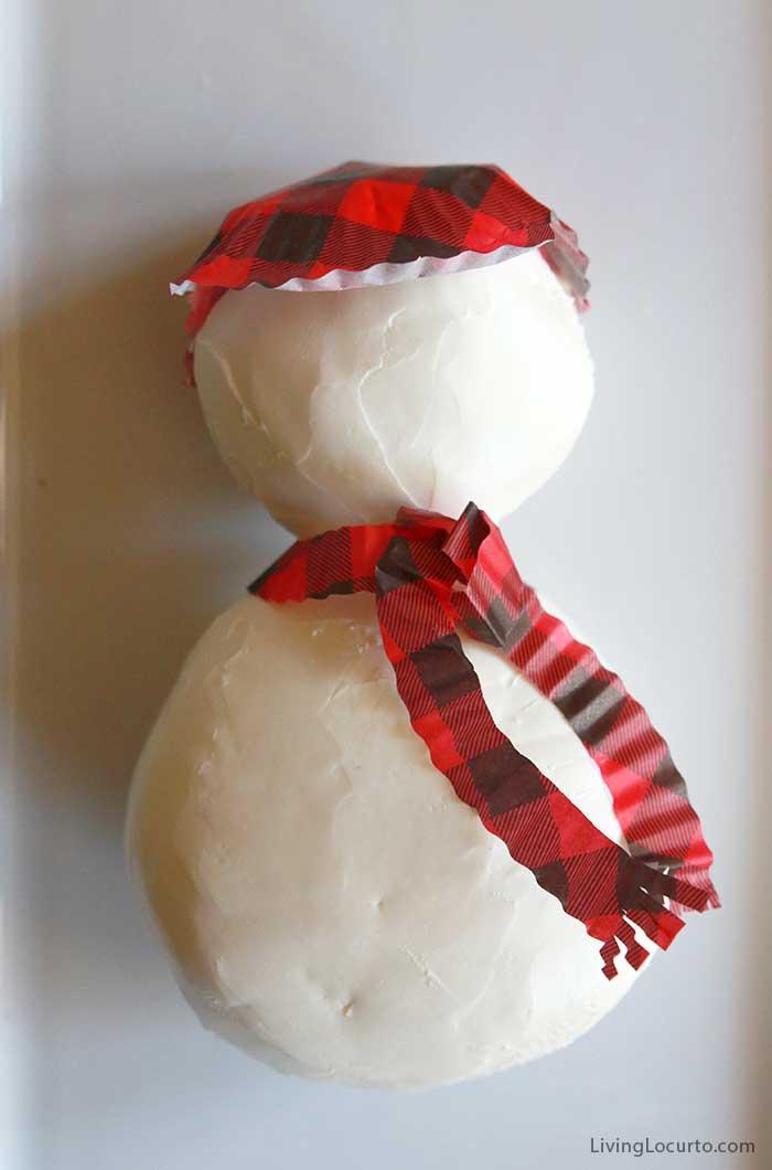 How to make a Snowman Cheese Ball