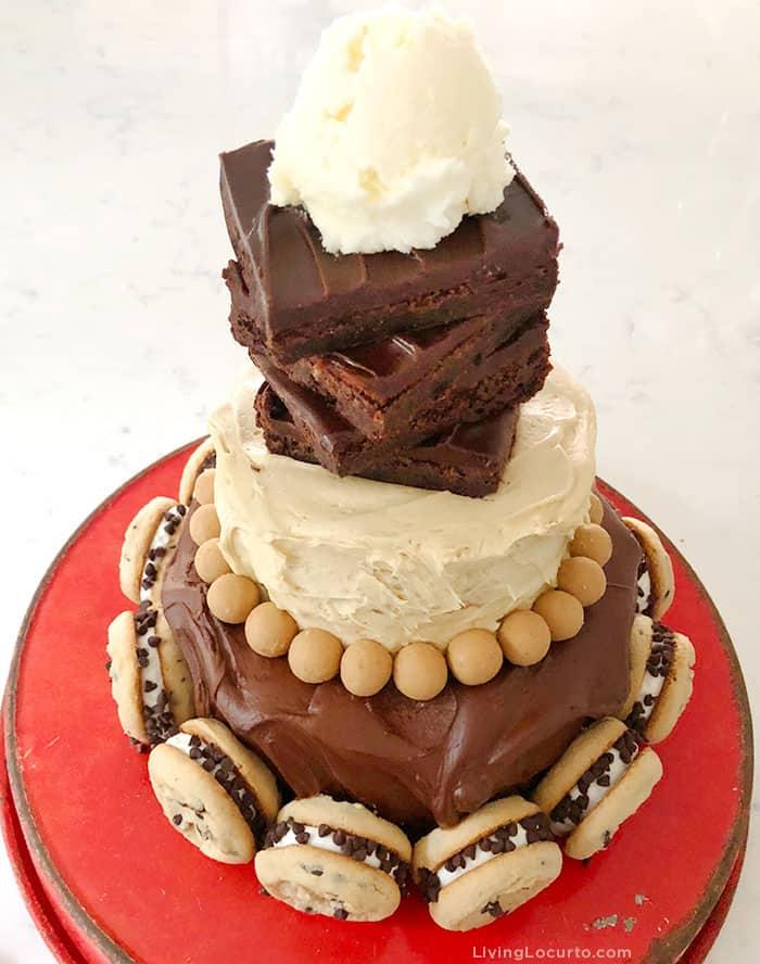 How to Make a Hot Fudge Sundae Birthday Cake