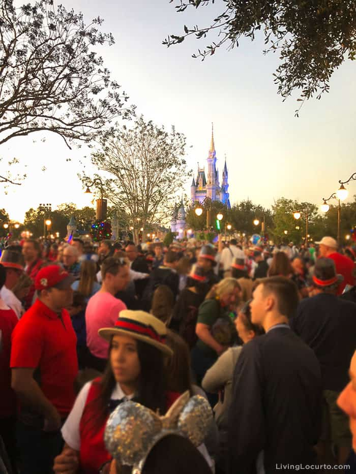 Tips for Disney World's Magic Kingdom on New Year's Eve - Crowd Information