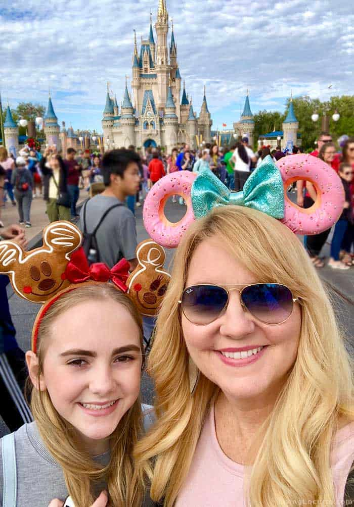 Magic Kingdom New Years Eve Disney Tips - Mother Daughter Trip Disney Mom Amy Locurto