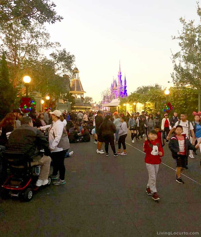 Tips for Disney World's Magic Kingdom on New Year's Eve - Secret Place to watch fireworks