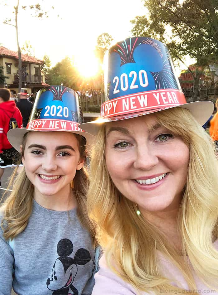 Tips for Disney World's Magic Kingdom on New Year's Eve - Lifestyle Blogger Disney Mom Amy Locurto