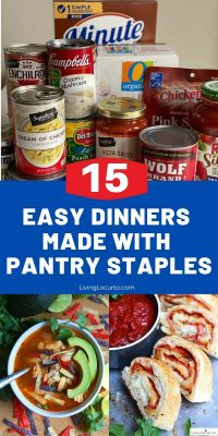 Easy Dinner Recipes Made with Pantry Staples