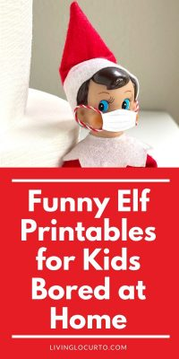 Funny Elf Printables