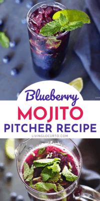 Blueberry Mojito Pitcher Recipe Living Locurto