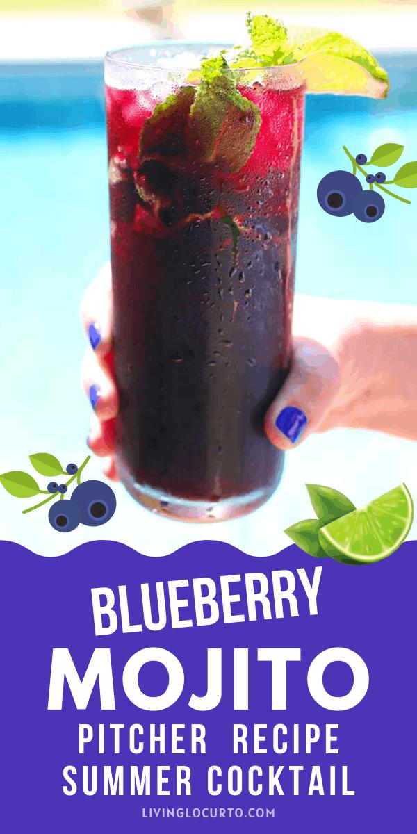 Blueberry Mojito Pitcher Recipe