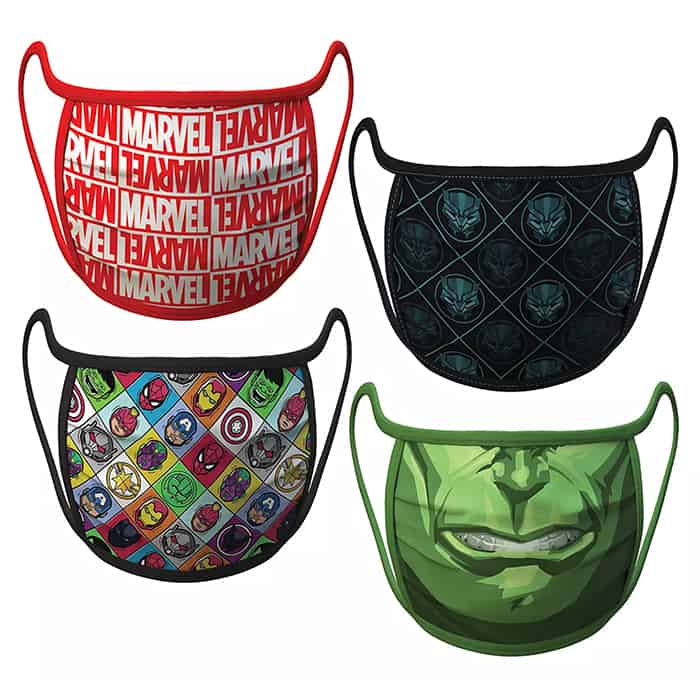 Marvel Disney Face Masks