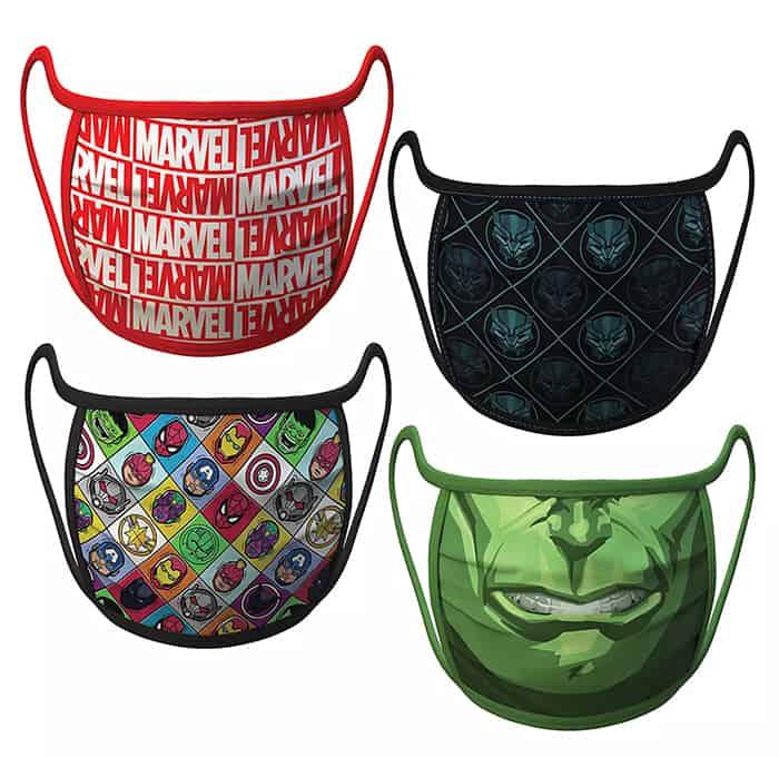 Marvel Disney Face Masks