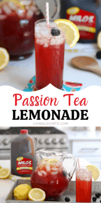Passion Tea Lemonade Drink Recipe