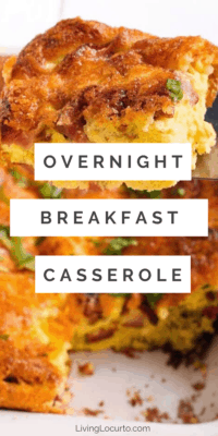 overnight breakfast casserole recipe
