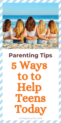 Parenting Tips for Teens - Teenagers on the beach