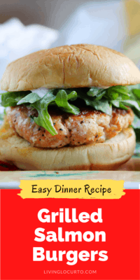 Grilled salmon burger recipe