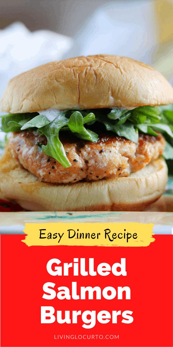 Grilled salmon burger recipe