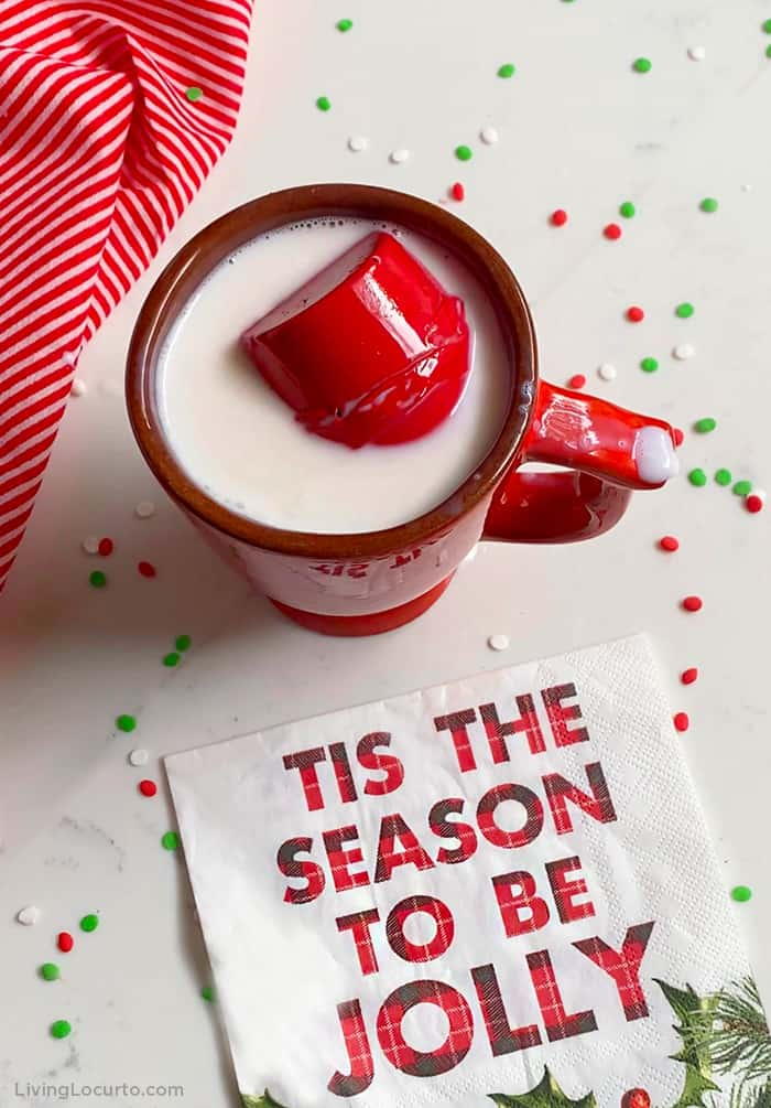 Christmas Hot Chocolate Cocoa Bomb Recipe Red Candy Living Locurto