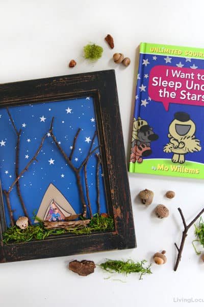 Sleep Under the Stars Nature Craft for Kids