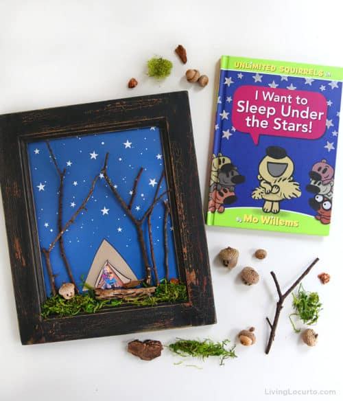 Sleep Under the Stars Nature Craft for Kids