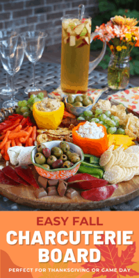 Easy Fall Charcuterie Board made in 15-Minutes or less