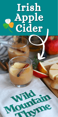 Irish Apple Cider - Delicious Whiskey hard cider cocktail