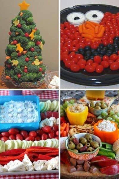 15 Creative Vegetable Tray Ideas