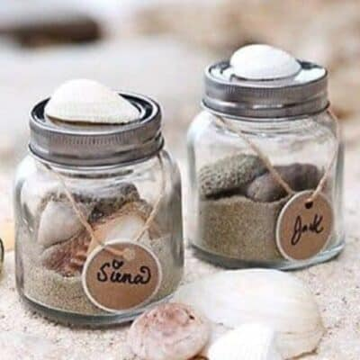 Vacation Sand Jars Kids Craft