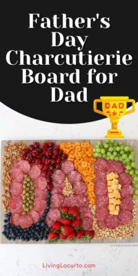 Fathers Day Charcuterie Board Dad Platter Living Locurto