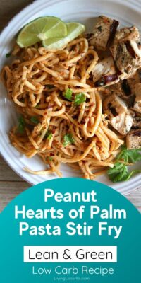 Peanut Hearts of Palm Pasta Recipe