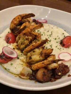 Shrimp and Grits Dinner at Tiffins Disney Animal Kingdom